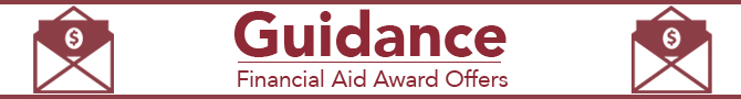 Guidance Financial Aid Award Offers