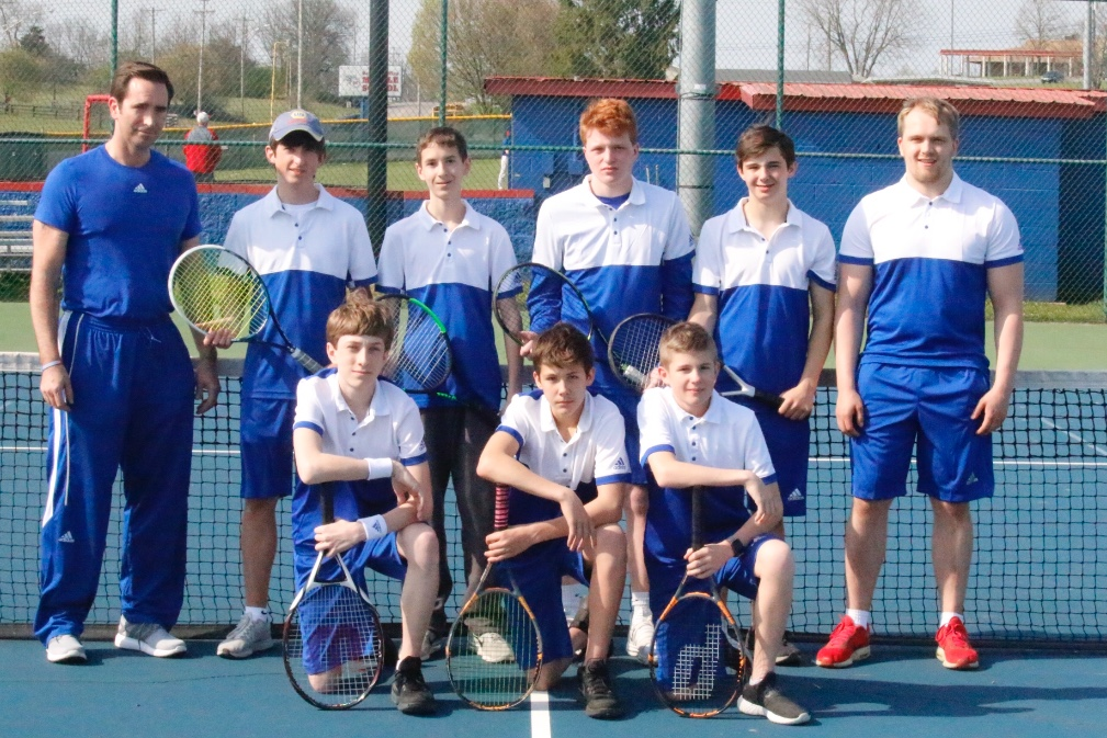 2017-2018 Boys Tennis Team