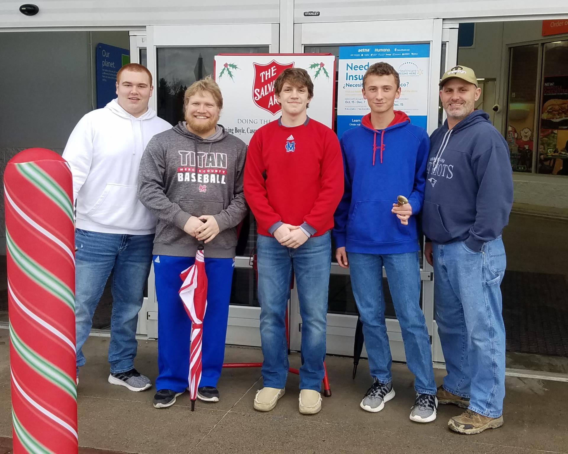 2018 Salvation Army Bell Ringers