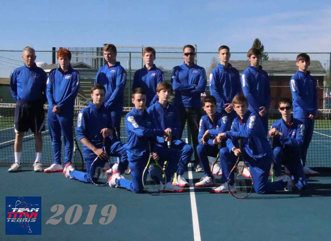 2019 Boys Tennis Team