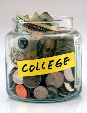 College change jar
