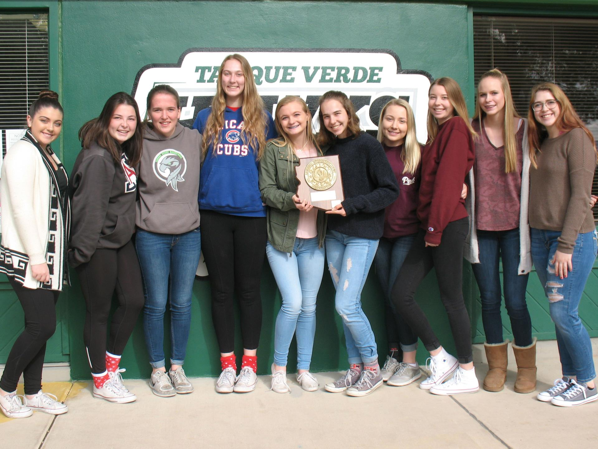 volleyball team state award
