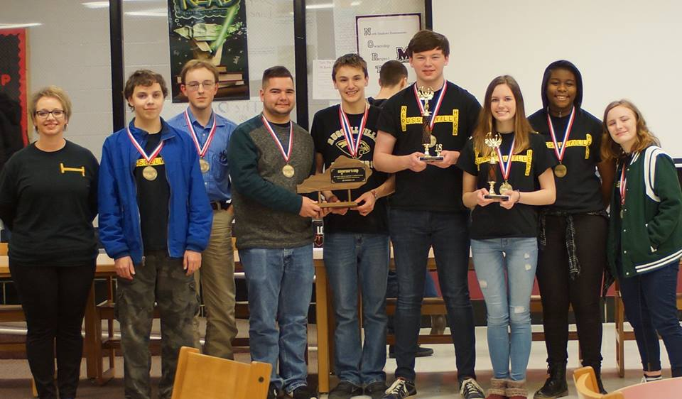 Members of the RHS Academic Team