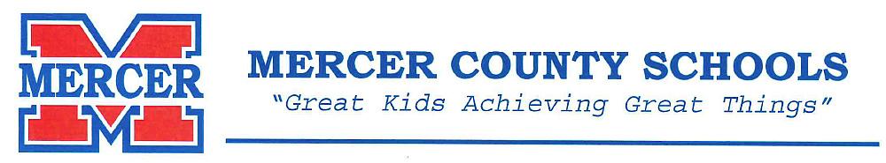 Mercer County Schools letterhead
