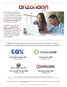 ArizonaOn works with local partners to eliminate the digital divide