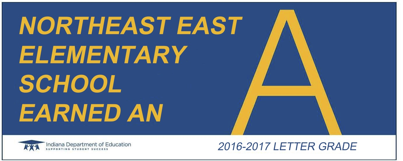 northeast east letter grade banner