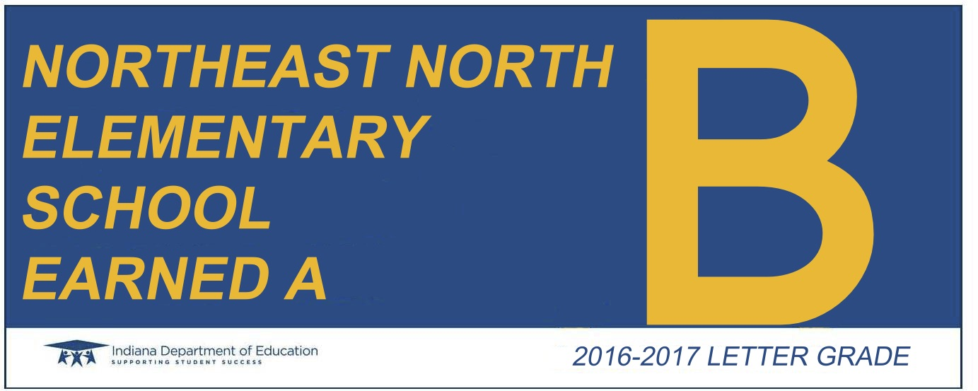 northeast north letter grade banner