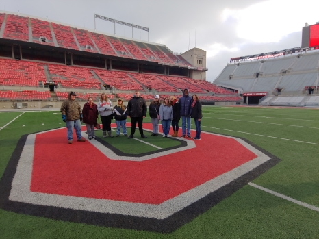 Picture of students having fun at The Ohio State University.