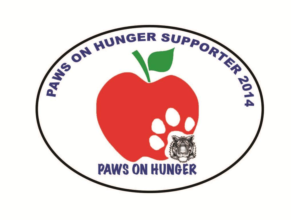 paws on hunger supporter