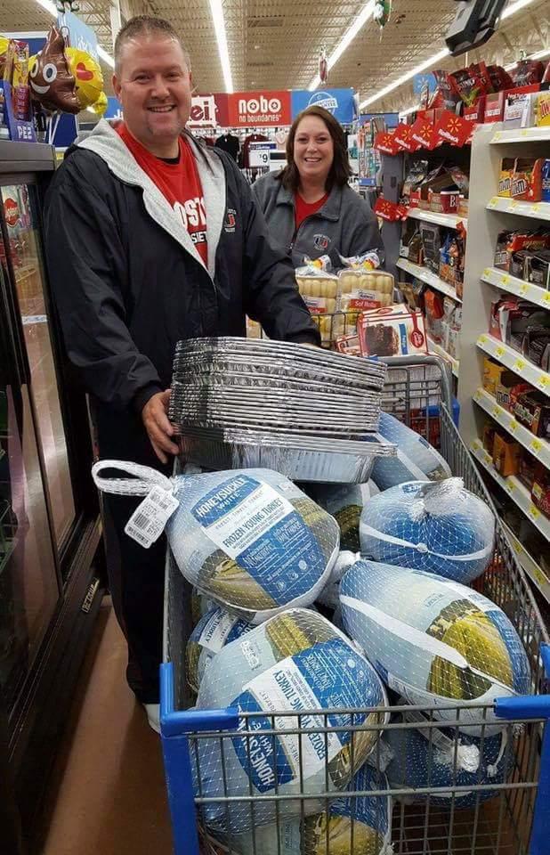 Thanksgiving Shopping image