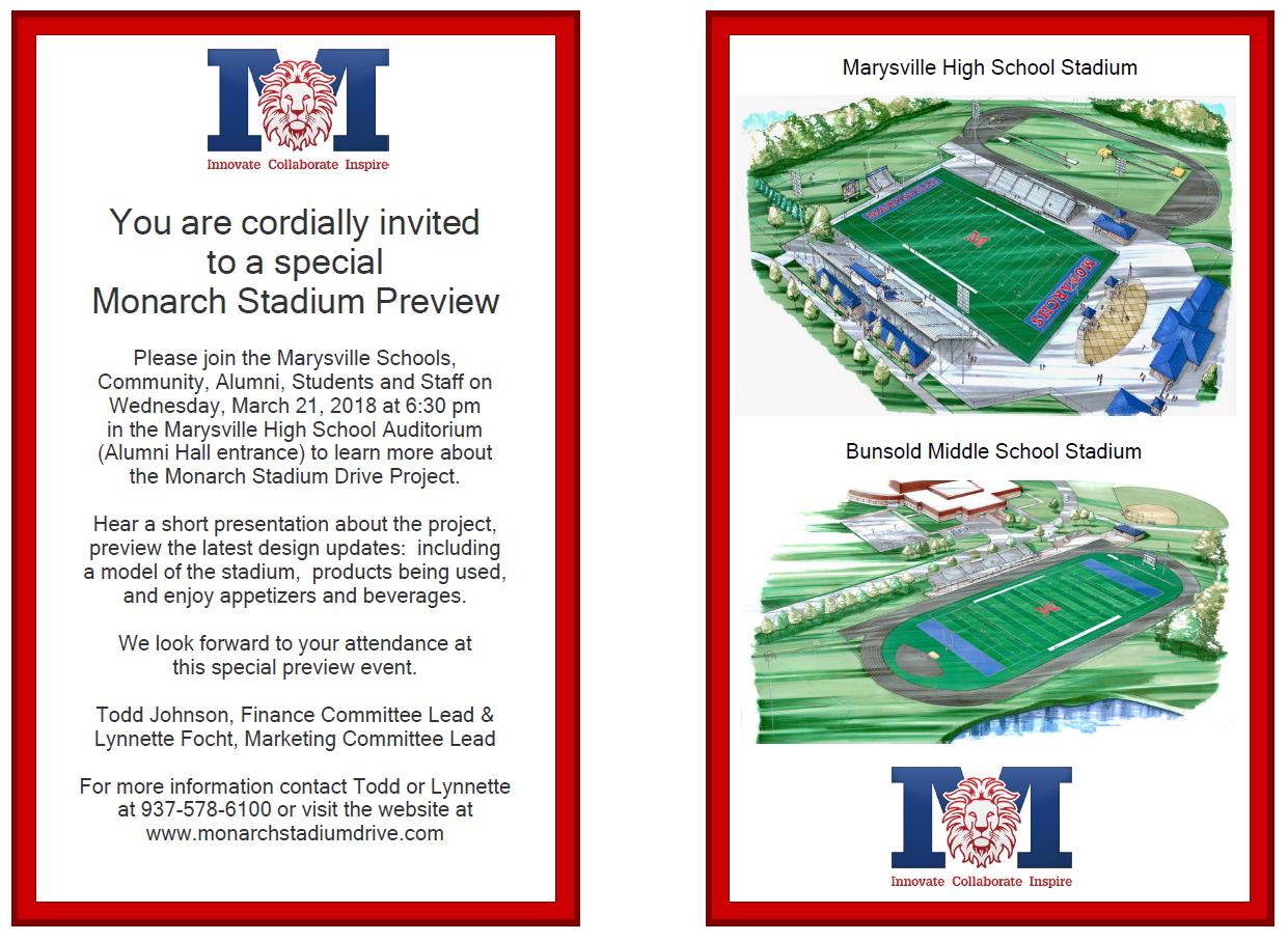 Stadium Invitation