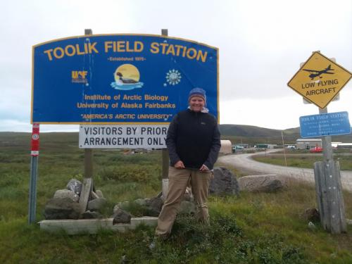 Teacher at Arctic field station