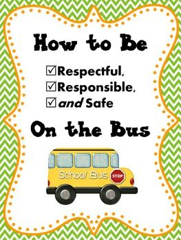 Bus Image of Rider's Rules of Good Conduct