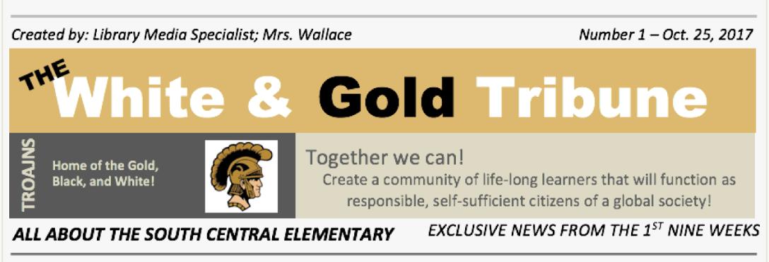 The White & Gold Tribune