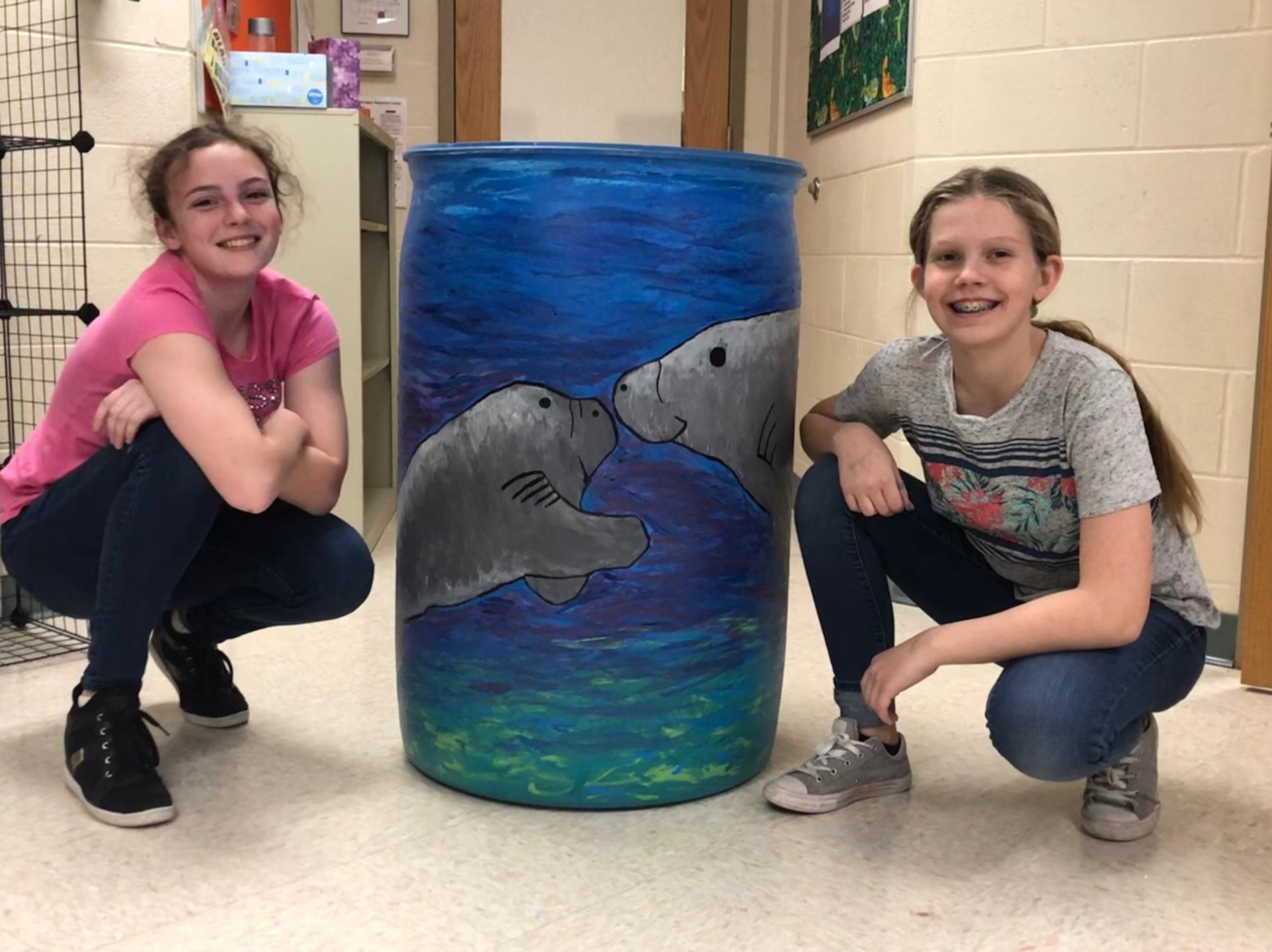 project Rain Barrel Art Benefit Auction