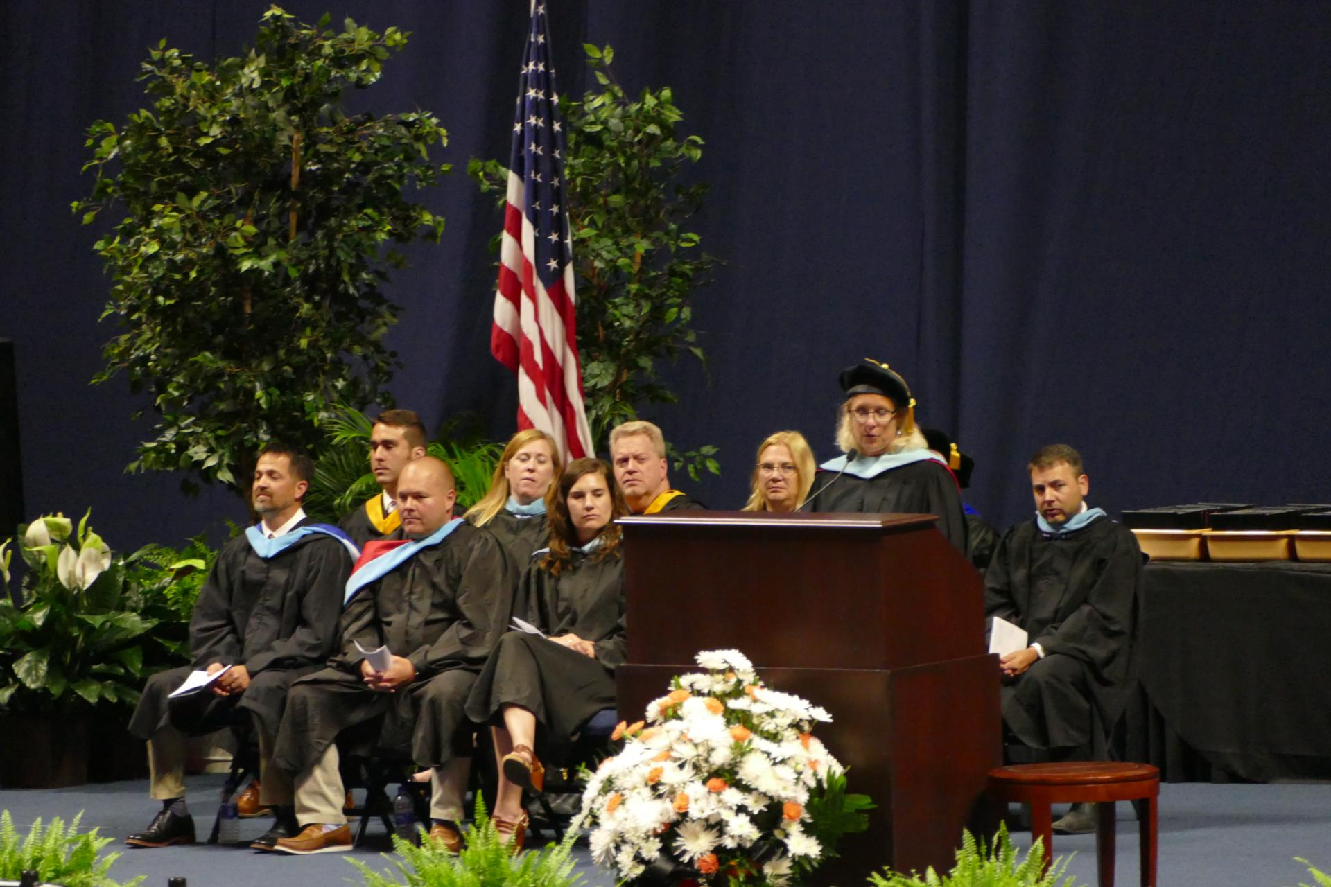 Superintendent delivers graduation speech